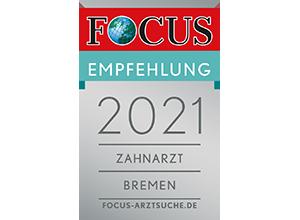 Zahnarzt Bremen Focus Siegel
