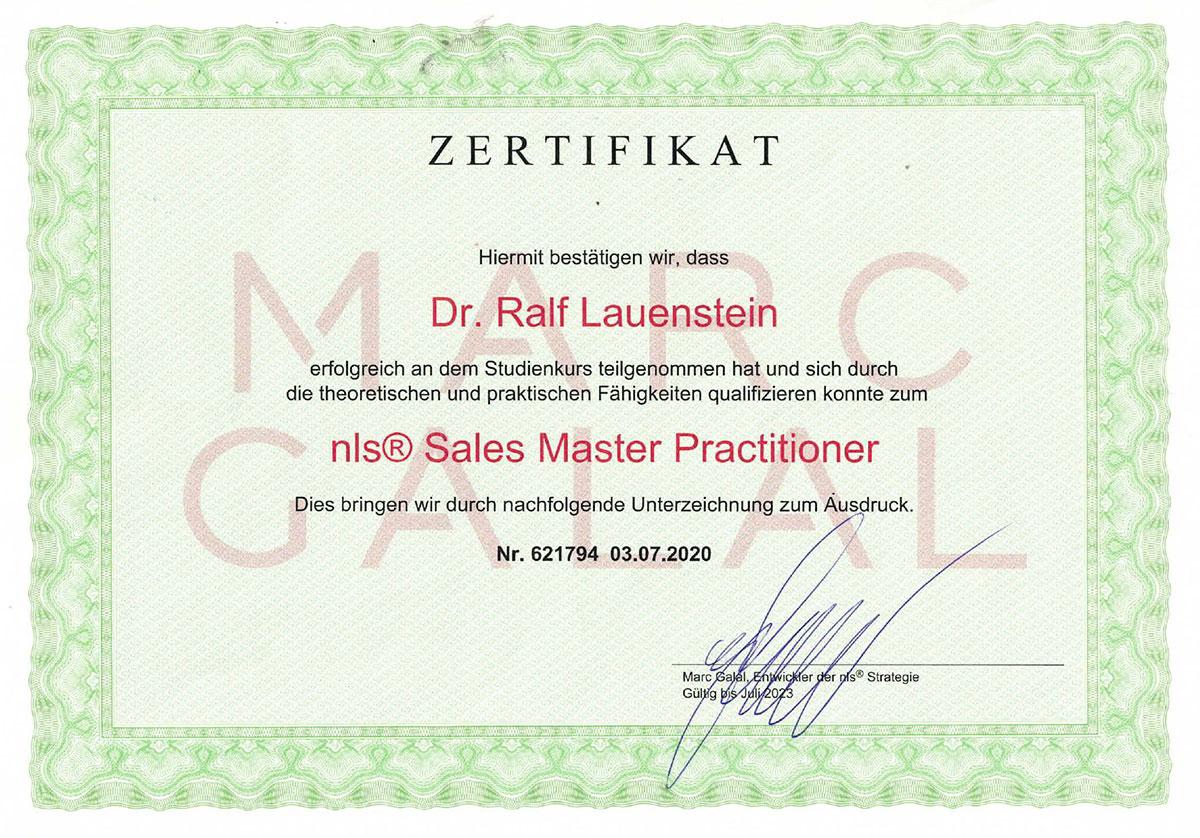 Sales Master Practitioner